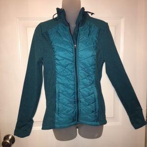 H&M Teal Hooded Jogging/Sport Jacket Size M